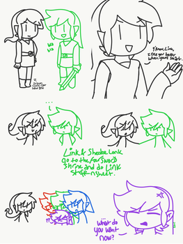 Smarter Link- I Like You Better When You're Smart by Deviant-Shadow-Link