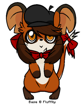 A Foxy Mouse :ID: by Tails-Doll-Lover