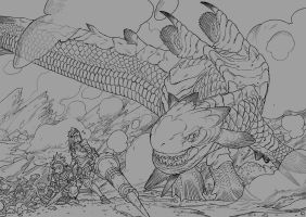 Monster Hunter by pietro-ant