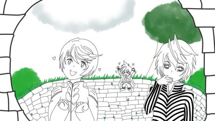 Ruins~ slightly colorless by AnjuSendo