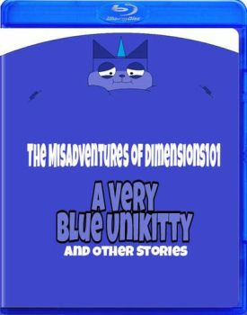A Very Blue Unikitty and Other Stories Blu ray by Dimensions101