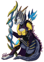 League of Legends Digital Badge - Pilo/Ashe by LadyDistort