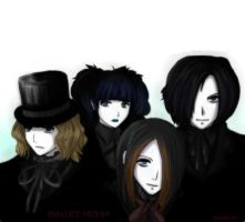 Malice Mizer group picture-CG by shufu