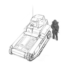 Foxhole - Colonial Light tank by Csp499