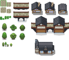 DoT Day6 - Bridgeton Tileset by Phyromatical