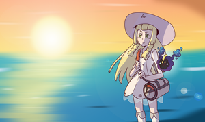 Lillie by Kame-Ghost