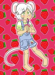 Ollie strawberry juice by Naoru