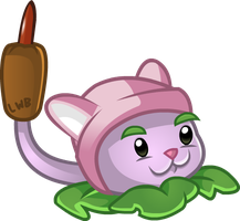 PvZ2 - Cattail by Lolwutburger
