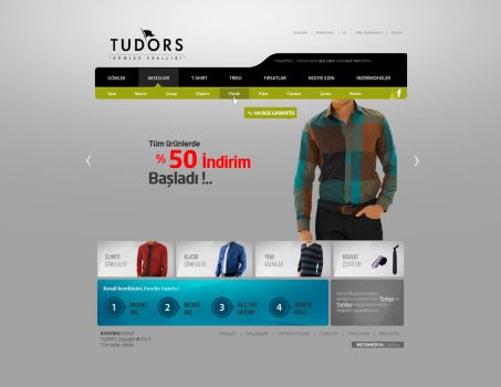 TUDORS Web Interface Design by alisarikaya