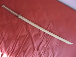 My first true Katana by fixinman