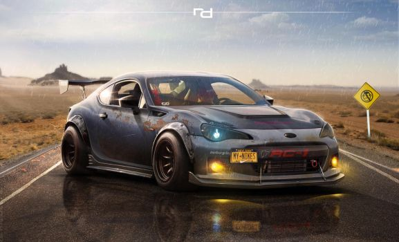 Subaru BRZ by Rob3rT----Design