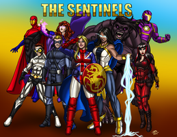 Super Powered Legends: The Sentinels by ProdigyDuck