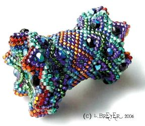 Terry D Beaded Bead by Mortsbeads