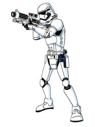 First Order Storm Trooper by Spartan-055