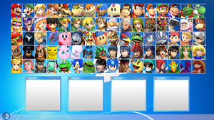 Another Smash Bros. Roster by MrYoshi1996