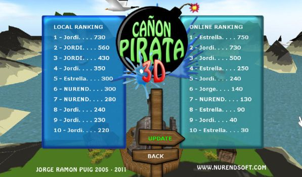 Canon Pirata 3D Gameplay 03 by Nurendsoft