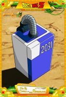 Dragon Ball Z - HP Capsule No 2031 - Refrigerator by DBCProject