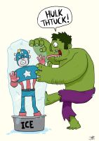 HULK THTUCK by striffle