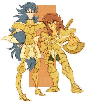 saint seiya - kanon+dohko by spoonybards