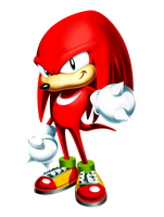 Knuckles Classic Render by tripplejaz