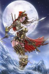 Steampunk Red Riding Hood by jamietyndall