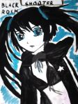 Black Rock Shooter by roxstarash