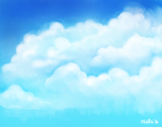 Clouds by catsw0rt