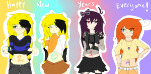 Happy New Years! On To 2014! by gretellu