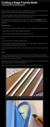 Stage Friendly Cosplay Sword Tutorial by Crimson-Shirou