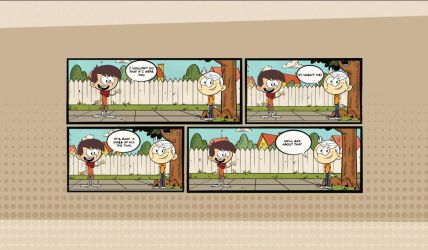My Loud House comic by ratchetsly2324