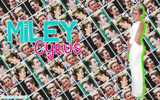 Wallpaper Miley by AngieTmnt