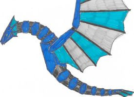 The Blue Dragon Zord by Chiquplane12