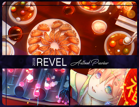 [Preview] Revel Artbook by ShiyumiChan