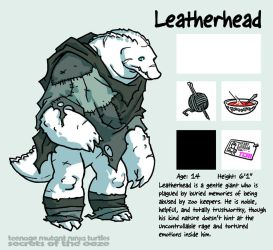 Secrets Of The Ooze: Leatherhead by mooncalfe