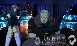 Ghost in the Shell S.A.C. by CaWoDa
