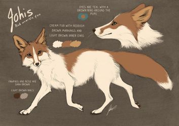 Johis the Fox, new ref by Lhuin