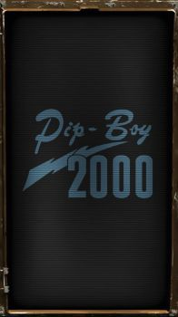 Pipboy 2000 Classic (Blue) by sitrirokoia