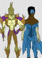 AT: Repton and Raziel by Housekid