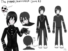 Humanized The Puppet Design by Dannysha