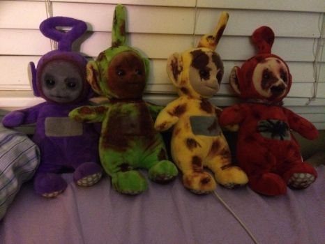 Slendytubbies collection by ThatFurryGal