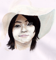 Japanese artist portraits by The-Hige