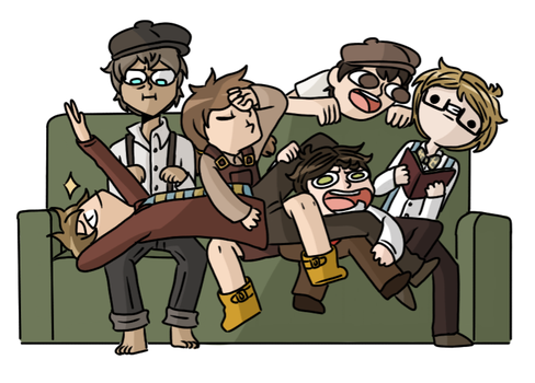 what a bunch of doofs by beanbagbrianna