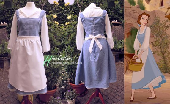 Belle's Village Dress by kaminohime