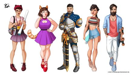 PIMD characters 6 by Emilyena