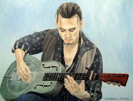 Johnny Depp - Roux 4 by shaman-art