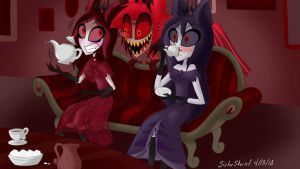 Hazbin Hotel-Unexpected Guest by SisterStories