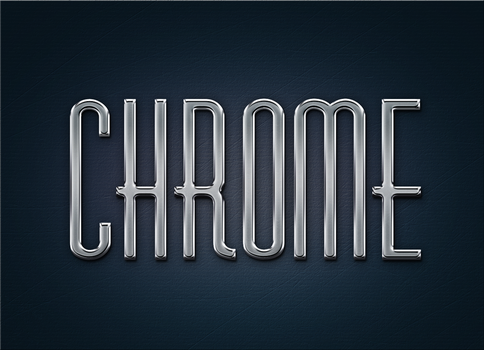 Free Metal Chrome Layer Styles and psd by Giallo86