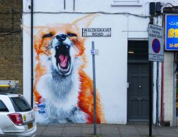 Turnpike Ln Fox by WhoAm-Irony