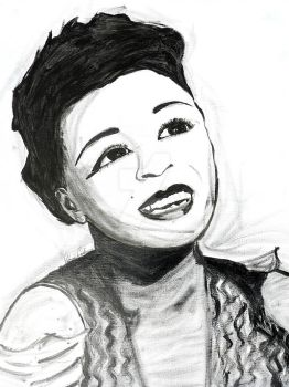 Ella Fitzgerald - Commission final by sabrinacurtis582