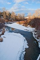 Ninemile Creek in Winter by quintmckown